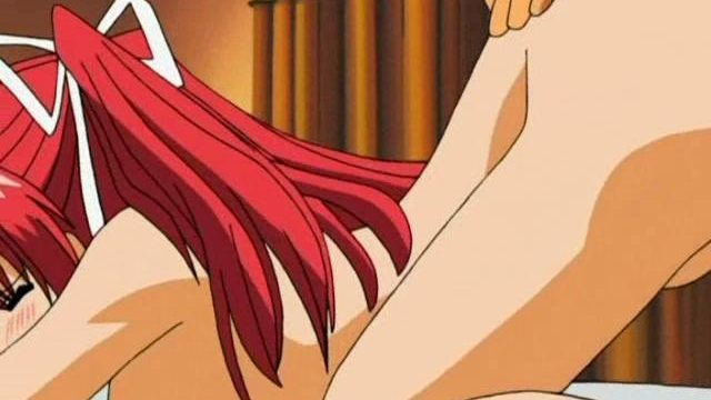 Fiery Redheaded Busty Anime Teen Will Get Puss Screwstared Puppy Taste