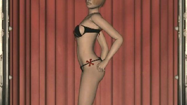 Stimulating Redhead 3-d Mite Slut Cindy Dancing Seductively For You