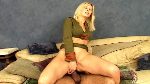 Excellent Blonde Military Hooker Celestia Superstar Masturbating Her Libidinous Asshole