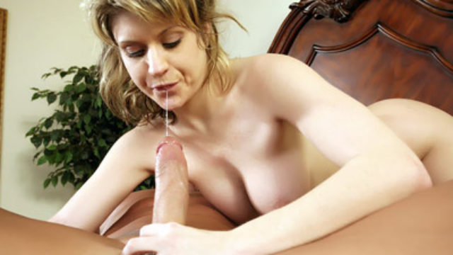 Busty Teen Offers A Blowjob