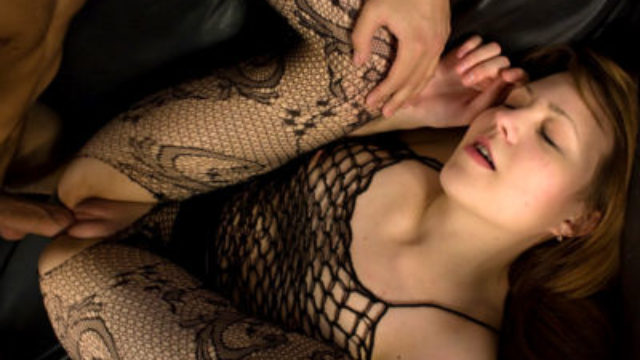 Crazy Teenager In Fishnet Pummeled