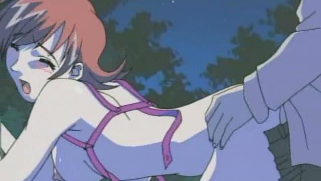 Redheaded Huge-titted Anime Porn Female Will Get Pummeled Rear End Within The Woods