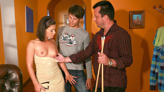 Passionate Wifey Humps Stranger