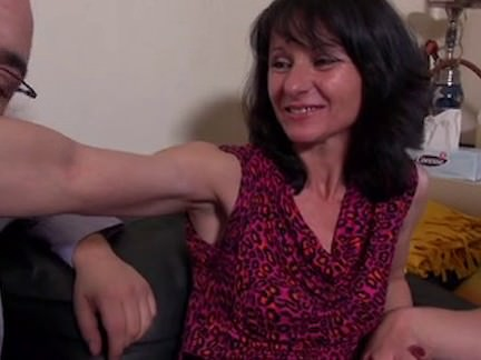 French Mature In Pantyhose Rectal Three Way