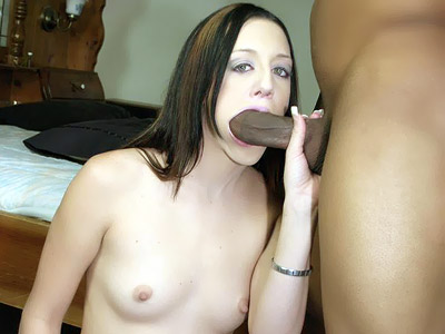 Deja Dare Mouthing A Meaty Dark-hued Knob