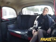 Faux Cab Czech Damsel Hankers A Stiff Fuck-stick