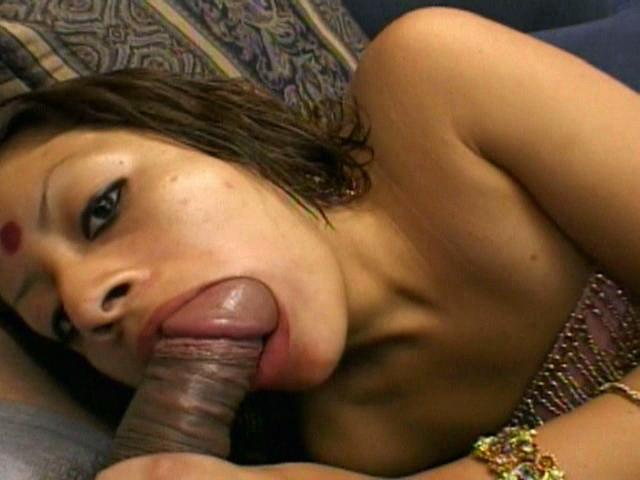 Mind-blowing Indian Chick Indra Deep Throating A Phat Furry Manmeat With Passion