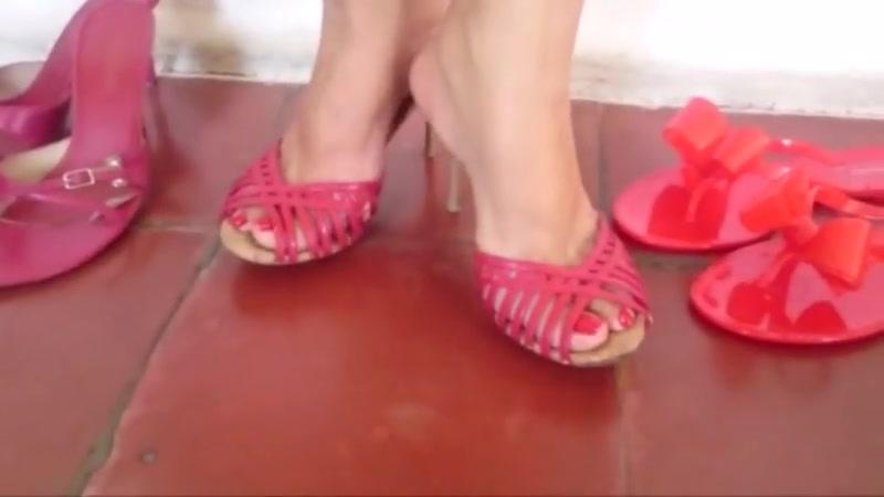 Most Effective Crimson Sandals  From Fresh To Elderly