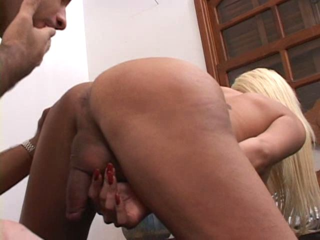 Sleek Light-haired Transgender Princess Damsel Getting Beautiful Lush Arse Munched Rock-hard