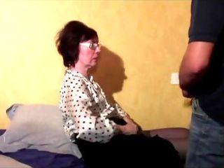 Grandmother Ass-fuck Threeway