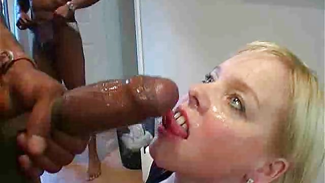 Humungous Ebony Trouser Snake Rectal Gang-fuck With First-timer Stunner Donna